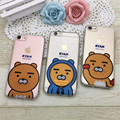 New Designer Soft Transparent TPU Case For iPhone 6 6s Plus 7 7 Plus Cute Cartoon