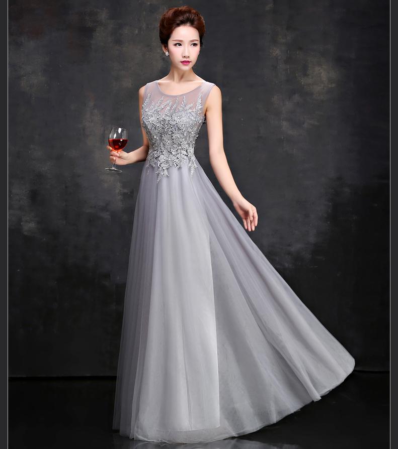 Vestidos para bodas en la tarde noche
