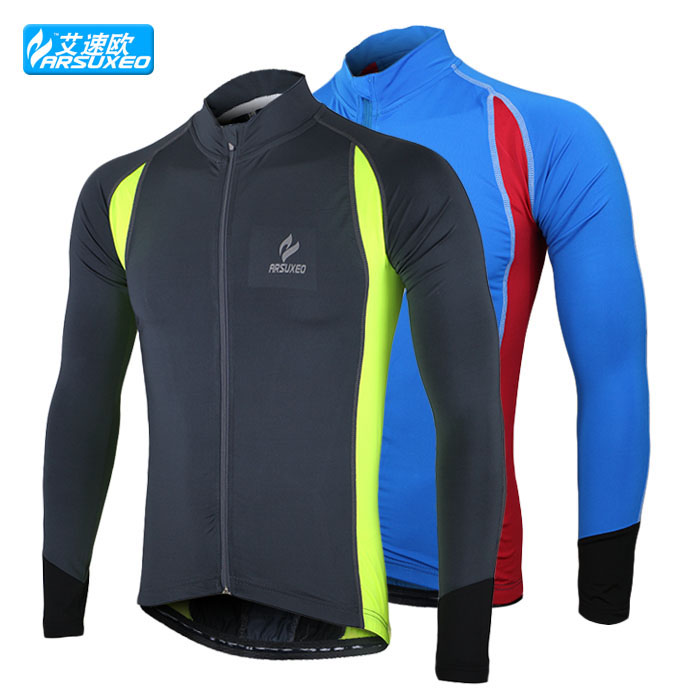 sports running cycling bike bicycle casual fitness compression jerseys shirts wear long sleeves(China (Mainland))