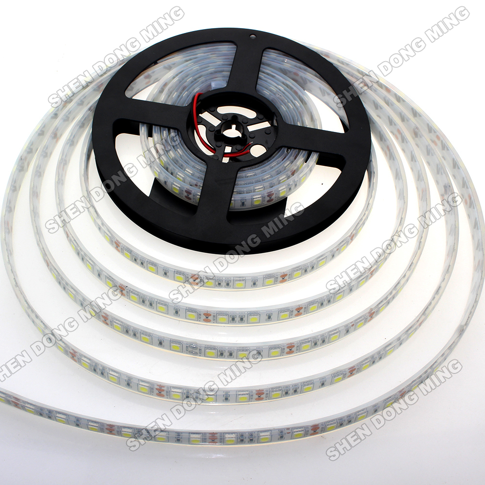 15m Waterproof IP68 LED Strip Light 5050 RGB/White/Warm White 300Led Roll Injection Used Underwater led Ribbon Lamp(China (Mainland))