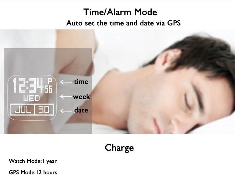 Nb открытый профессиональный mutifunction виды летние GPS часы скорость, Расстояние, Калорий, Темпы
