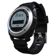 Buy Professional sports IOS GPS smart watch pressure, temperature, altimeter, heart rate riding mountain climbing step, positioning for $104.47 in AliExpress store