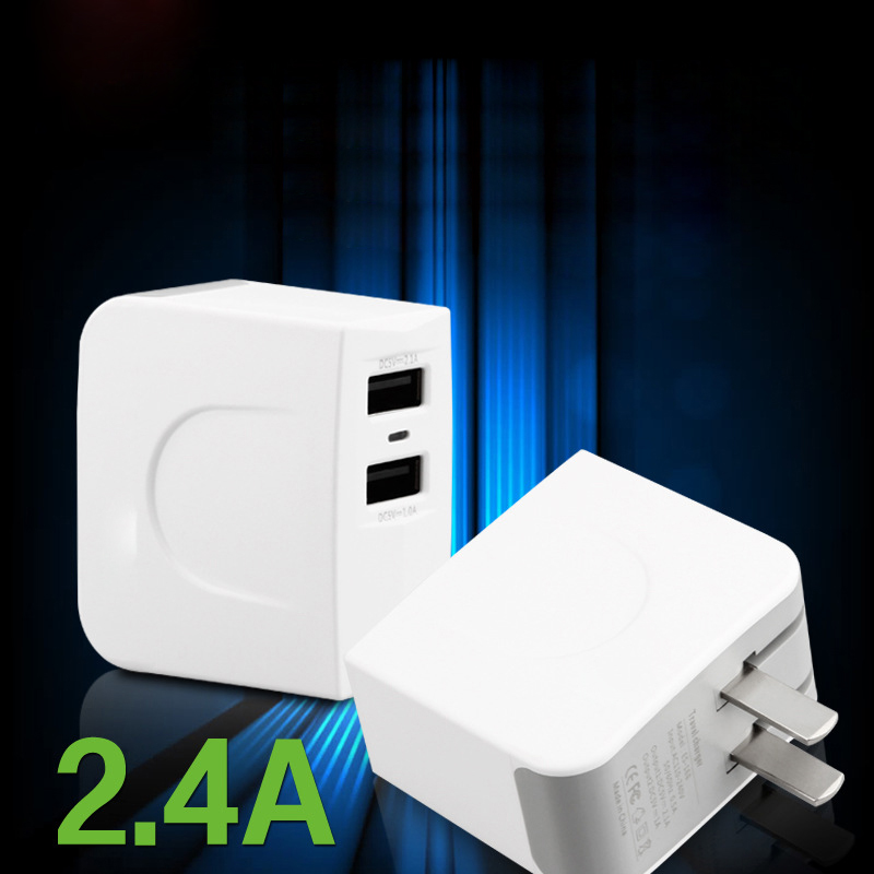 GOESTIME Dual USB 2 Port 5V 2A AU Plug Dual USB Charger Power Adapter Travel + 1m micro usb data cable for Samsung Galaxy S7(China (Mainland))