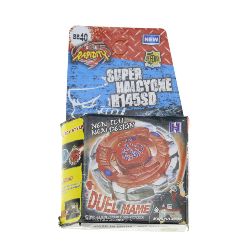 1Pcs Metal Fusion Beyblade 4D BB40 H145SD Without Launcher Spinning Top Kids Toys For Christmas SUPER HALCYONE H145SD BB40(China (Mainland))