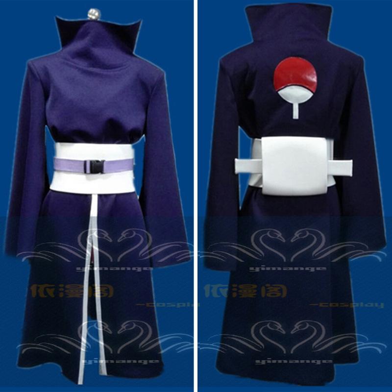Uchiha Madara Clothing Japanese Anime Naruto Uchiha Obito Cosplay Costume