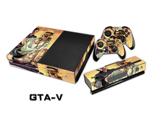 For GTA – V 5 Decal For XBOX ONE Stickers + 2 Pcs Controller Cover Skin Console Protective Flim
