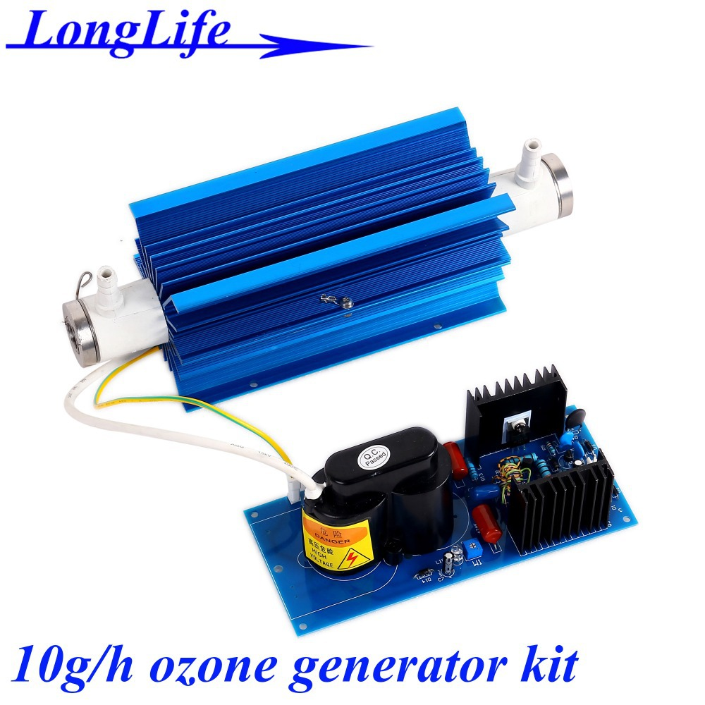 LF-11010CSON, AC220V/AC110V 10g/h ceramic tube ozone water generator KIT ozone generator for Swimming pool water disinfection<br><br>Aliexpress