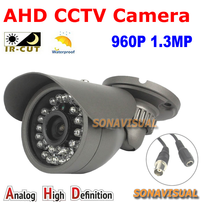 Free shipping! 1.3MP CCTV AHD Camera 30ir leds Waterproof 960P Outdoor indoor Night vision Home security system CCTV AHD Camera<br><br>Aliexpress
