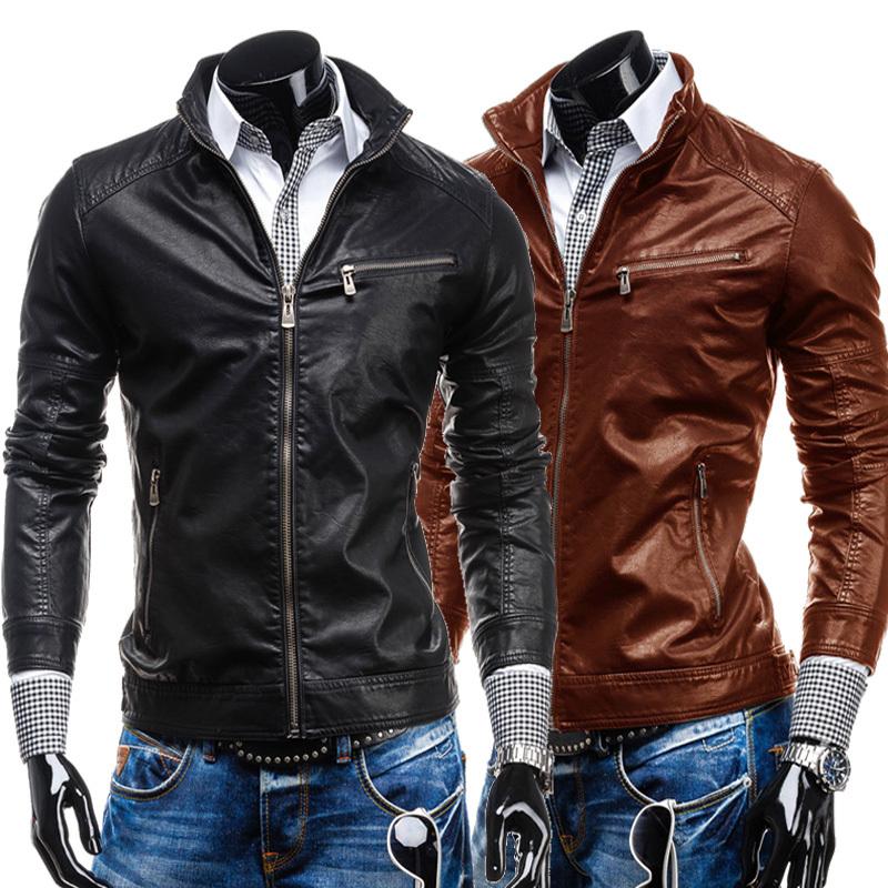 New Leather Jacket YgzAO3