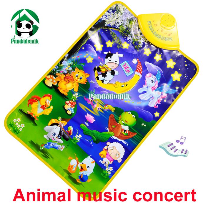 Play mats New 2014 Baby Toy Animal Voice Musical Mat Carpet toys children - Pandadomik store