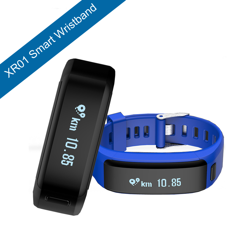 Smart Watch XR01 Smart Bracelet Wristband Fitness Tracker Android Bracelet Smartband Heart rate Monitor PK xiaomi mi band 2