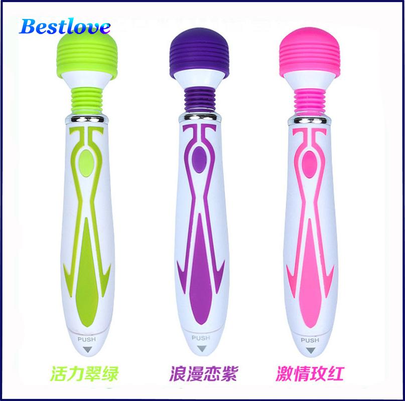Sex Toys for Women Magic Wand Vibrators AV Massager 60 Speed Bullet Vibrator Clitoris Adult Sex Products Sex Toys(China (Mainland))