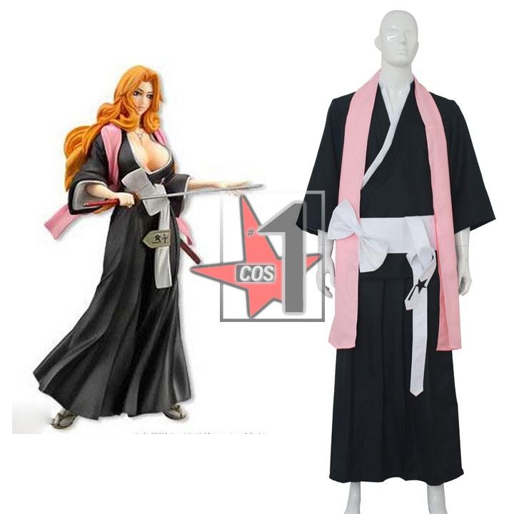 Anime Bleach character matsumoto rangiku cosplay Custom made Black Long sleeve costume set for Halloween role-play CN0242AОдежда и ак�е��уары<br><br><br>Aliexpress