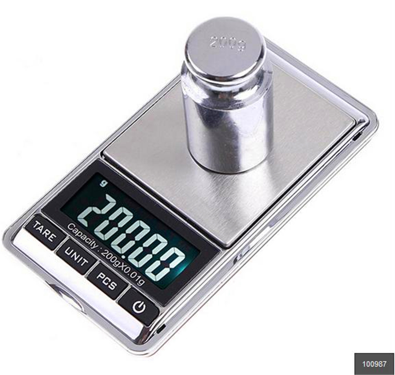 Cheap New Home Pocket Scales Mini Digital Scale Diamond LCD Electronic Jewelry Scale Home Decor 200gx0.01g(China (Mainland))