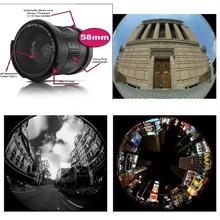 Lightdow 58mm 0.35X Fish Eye Super Wide Angle Fisheye Lens for Canon Nikon Sony DSLR(China (Mainland))
