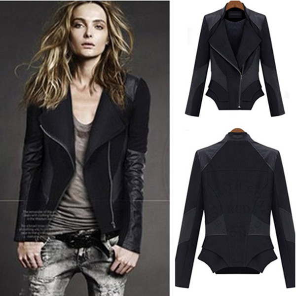Womens Leather Coats On Sale