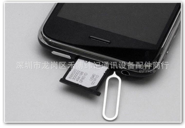 10pcs Sim Card eject Pin Key Tool ejetor pin For iPhone 4S 4G 3GS 3G xiaomi redmi note 2 3 mi4 p8 lite samsung galaxy a5
