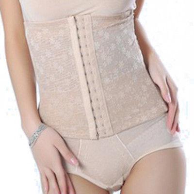 Slim Underbust Postpartum Belt Waist Abdome Multi-Breasted Control Girdle Corset(China (Mainland))