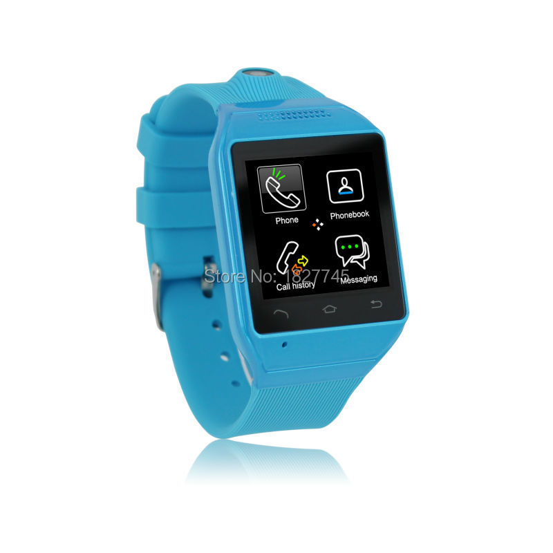"""Saint Vaco Smart Watch S19 1.54"""" Touch Screen Bluetooth SmartWatch WristWatch Cell Phone TF GSM FM Sync Android OS Handsfree New(China (Mainland))"""