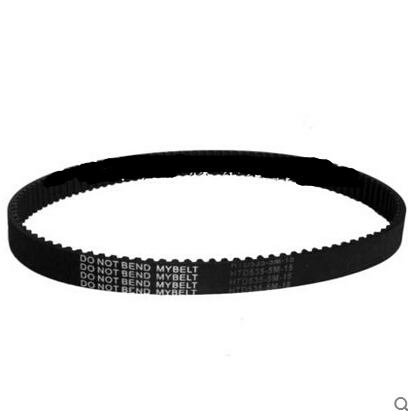 2pcs freeshipping wholesale Electric scooter conveyor belt HTD535-5M-15/107 gear rubber timing belt--circumference: 535 mm(China (Mainland))