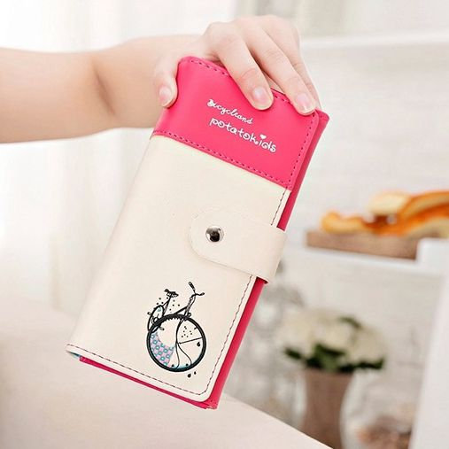 New 2015 womens fashion wallet purse Mrs PU skin restore ancient ways the clutch purse wallet mobile wallet bag printing<br><br>Aliexpress