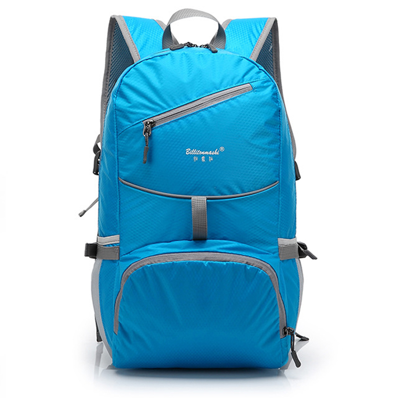 2015 outdoor waterproof folding backpack travel bags Waterproof Multifunctional Men women luggage bag sports bags(China (Mainland))