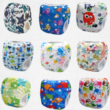2016 new new designs,swim diapers for summer,reusable,adjustable nappies swimming cover(China (Mainland))