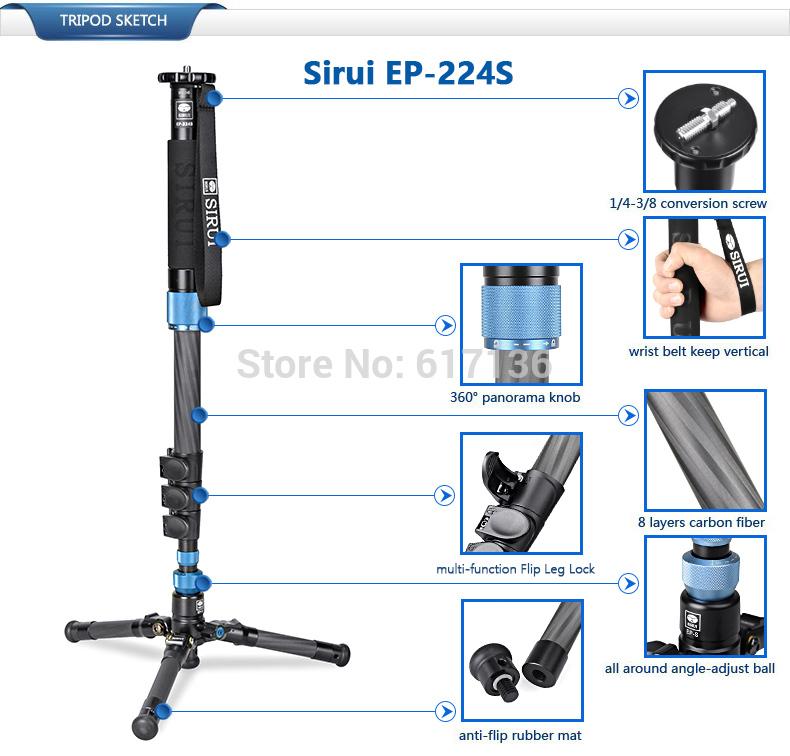 Sirui EP-224S monopod 02