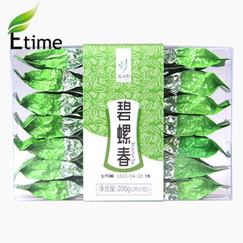 green tea Sales Promotion Spring biluochun tea Fragrance Lightly 1PC=200G Chinese Popular Top Green Tea Mellow ETY065(China (Mainland))