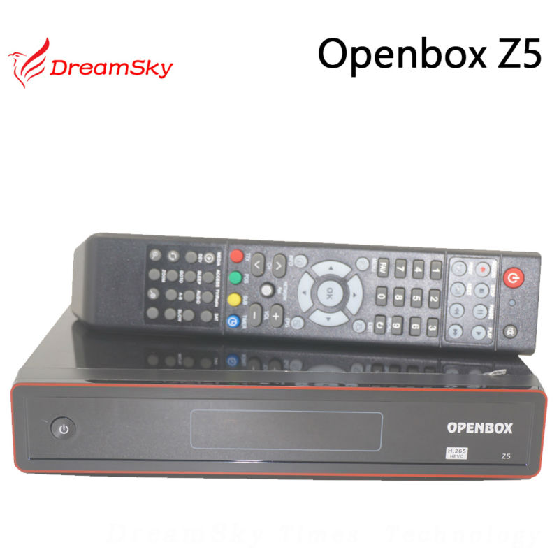 2pc Original Openbox Z5 HD PVR H.265 HEVC Satellite Receiver support full 1080p Youtube Gmail Google Maps Weather CCcam Newcam(China (Mainland))