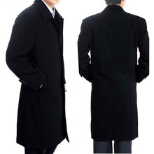 2015 Winter 50% OFF SALE Men's fashion handsome winter long dust coat Wind Overcoat for men warm Trench jacket Asia S-3XL MTS153(China (Mainland))