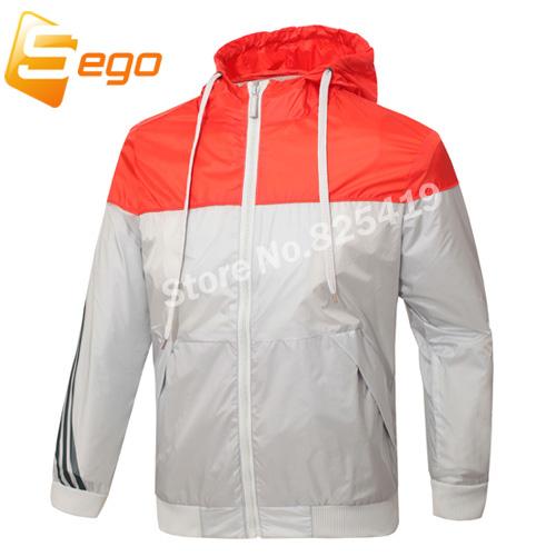 New Spring And Fall Men Jacket New Fashion Casual Sport Jacket Thin Men Windbreaker Hooded Coat(China (Mainland))