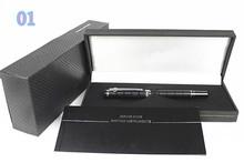 Бесплатная доставка 2013 дизайнер четыре цвета средней длины перьевая ручка с оригинальной коробка