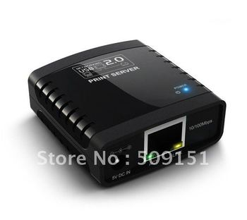 USB 2.0 Ethernet Network Print Server,Networking LPR MFP USB Print Server Over Ethernet palm,usb print server,usb server