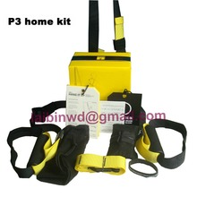 p3 fedex Free dropSuspensions fitness body building wrokout Exercise rope Resistance Bands +HOME bodybuilding Training band