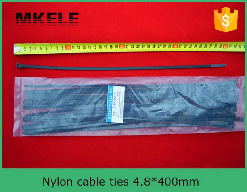 CE UL ROHS Nylon tie cable MKCT 4 8 400mm 100Pcs Bag