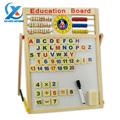Multifunctional Wooden Two sided Magnetic Drawing Writing Board Kids Educational Board Blackboard Whiteboard Toys for Children