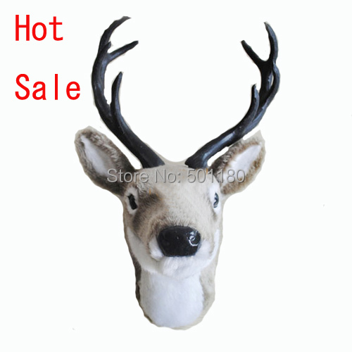 free shipping new classical wall decoration craft deer head(China (Mainland))