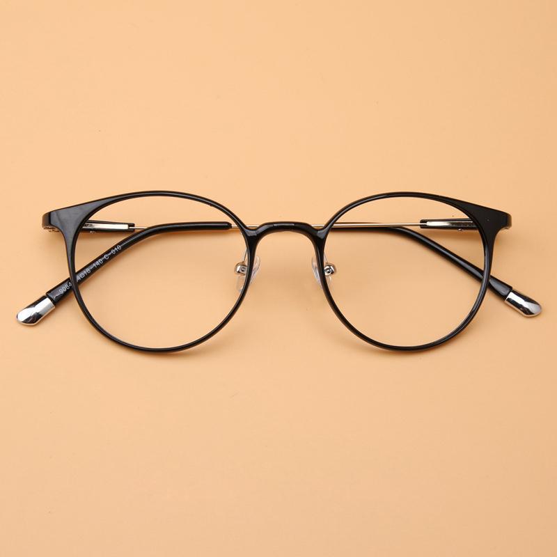 New Fashion Retro Optical Glasses Myopia Frame Adjustable Nose Pads Ultra Thin Legs Prescription Eyewear Frames(China (Mainland))