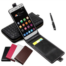 Classic Luxury Advanced Top Leather Flip Colorful Case ZTE Blade V7 Lite 5.0'' Phone Cases Cover Card Slot - FKY Group Co., Ltd store
