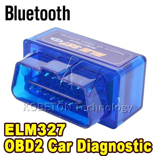 Bluetooth ELM327 V2.1 Interface Code Readers ELM 327 Smart Car Vehicle Diagnostic Scanner Tool for All ODB2/OBDII Protocols(China (Mainland))
