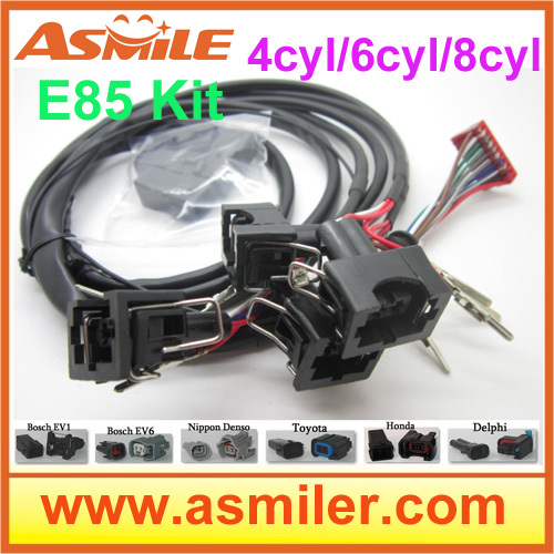 E85 conversion kit 6cyl with Cold Start Asst. biofuel e85, ethanol car, bioethanol converter <br><br>Aliexpress