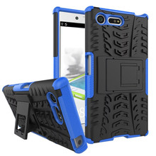 Buy Sony Xperia X Compact Case TPU Shock Proof Silicone + Hard Shell Phone Case Sony Xperia X Compact F5321 Case Back Cover for $5.08 in AliExpress store