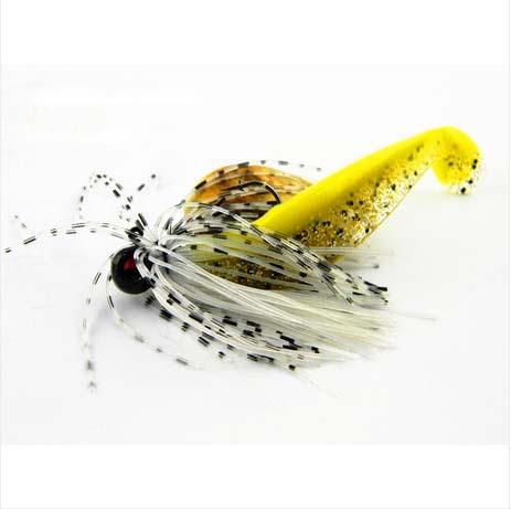 2014 New 5g 8cm 6pcs soft bait Silicone Tiddler Bait Fluke T Fish Fishing Saltwater Fish soft lure soft plastic lures lures set(China (Mainland))