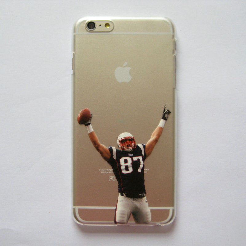 Clear Case for iphone 6 6s American Football Gronkowski Cruz Johnson Manning printed Phone Cover for iphone 6 4.7''(China (Mainland))