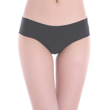Brand new Women Invisible Underwear Thong Cotton Spandex panties Candy color Seamless briefs shorts