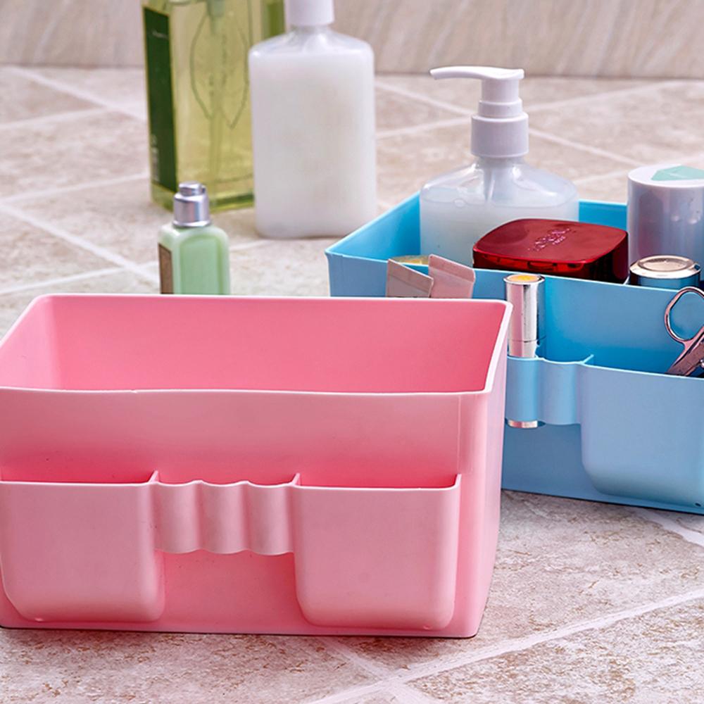 Contenants de rangement en plastique tiroirs promotion for Boite de rangement salle de bain