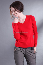 High Quality More Colors Autumn Winter 2015 NEW European Style Women Fashion Outwear Pullovers Knitted Cashmere Sweater Women(China (Mainland))