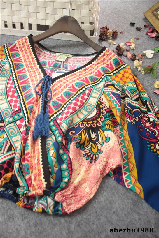 Женские блузки и Рубашки v blusa женские блузки и рубашки romantic beach blusa femininas2015 sh022