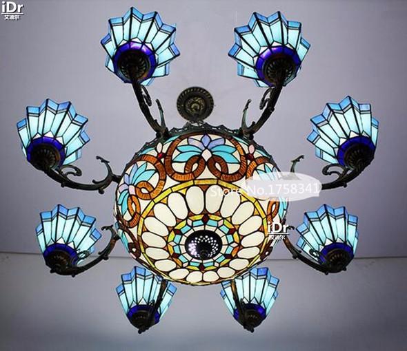 Купить Вилла гостиная столовая зал проект высококлассные Средиземноморский сад lightsBedroom лампа Зал Люстры Высококлассные атмосферу